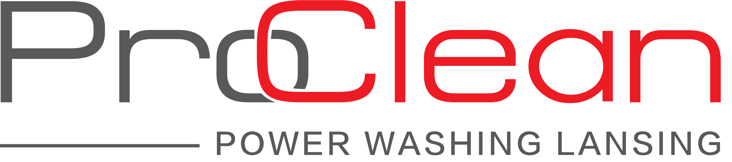 ProClean Power Washing Lansing Branded Logo